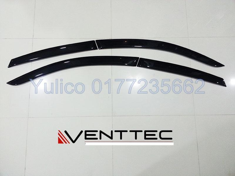 HIGH QUALITY KIA RIO SEDAN (75MM) DOOR VISOR YR '11 & ABOVE