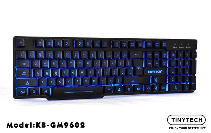 HIGH QUALITY BACK-LIGHT LED GAMING KEYBOARD W/ FUNCTION KEY (GM9602)