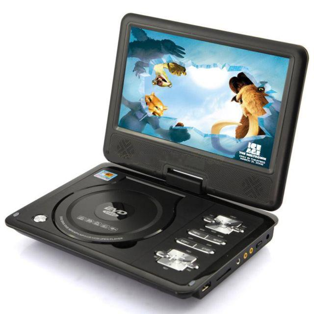 HIGH QUALITY PORTABLE 13.8' DVD PLAYER WITH SONY COMPONENTS