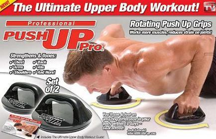 High Quality Professional Push Up Pro - Rotation Push Up Grips-1 Pair