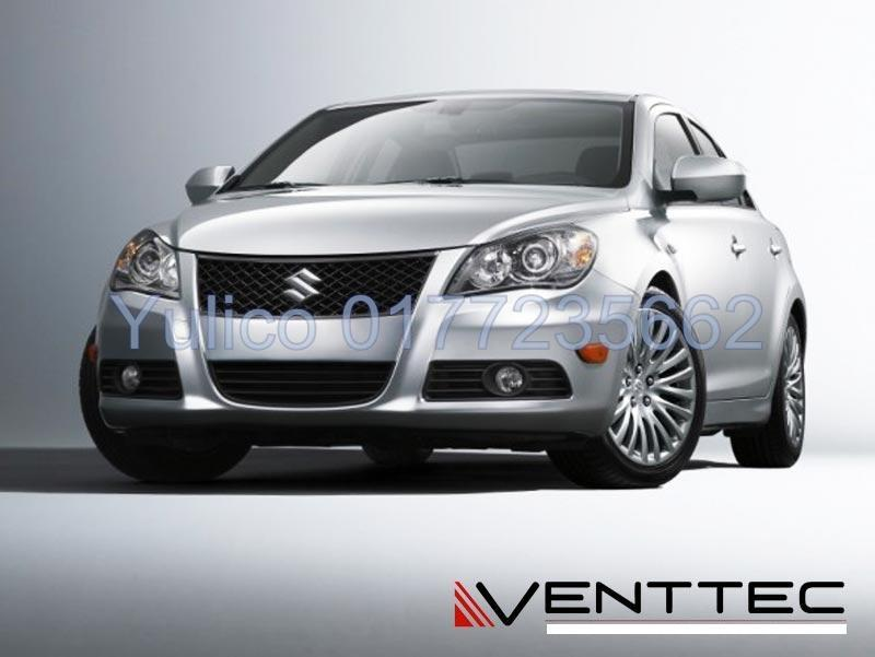 HIGH QUALITY SUZUKI KIZASHI DOOR VISOR YR '10 - '15
