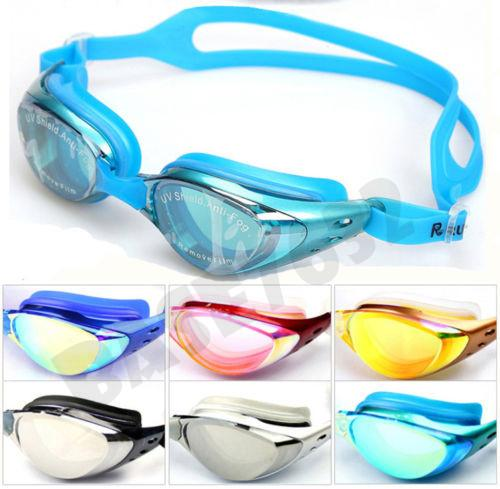 High Quality Swimming Goggles Goggle Diving Anti Fog Coating UV Shield