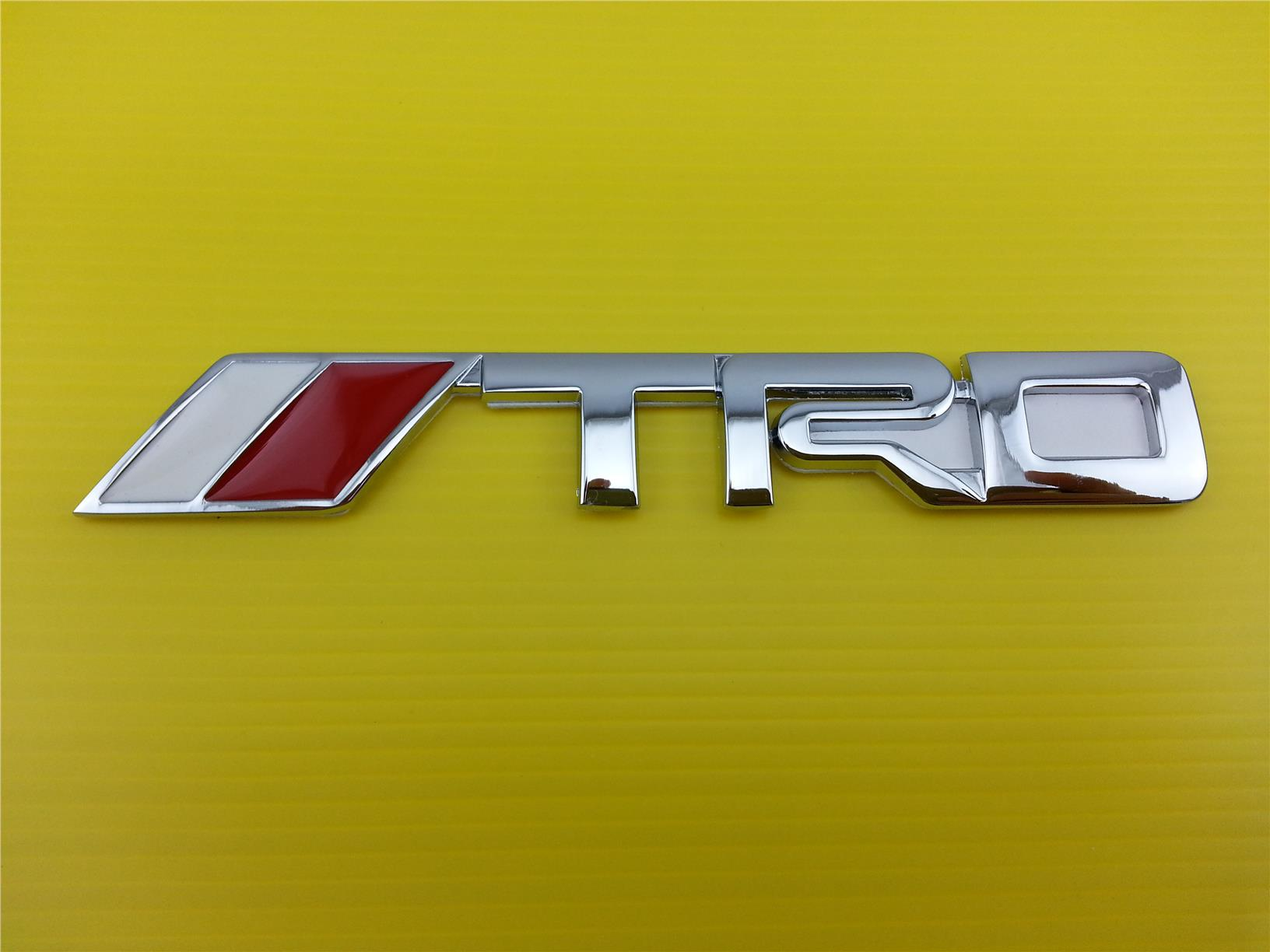 High Quality TRD Sport Rear Trunk Emblem Badge.DIY