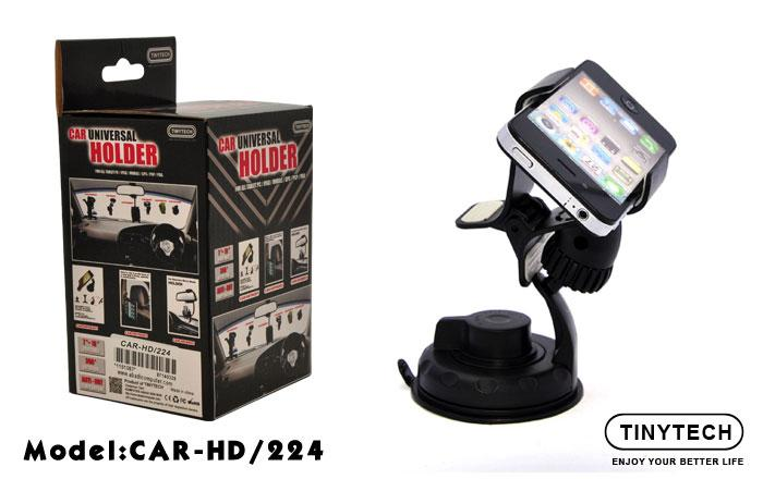 HIGH QUALITY UNIVERSAL CAR HOLDER W/ 360 ROTATION (HD-224)