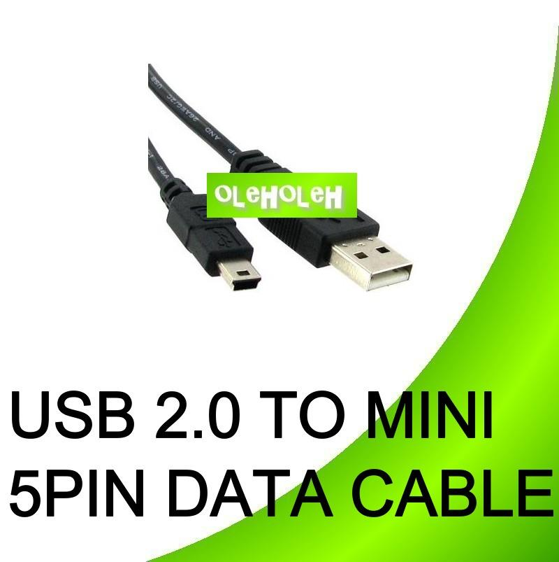 High Quality USB To Mini 5 pin Data Cable