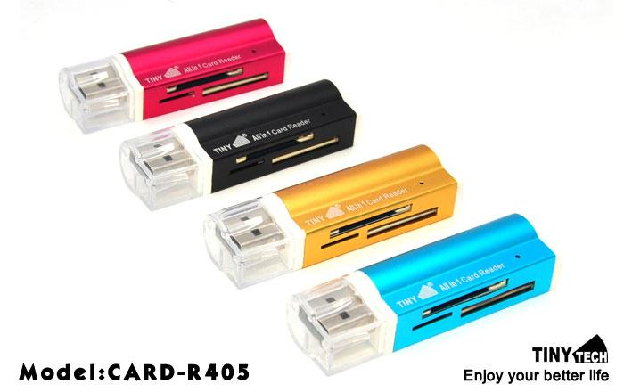 HIGH QUALITY USB2.0 ALL IN ONE MULTI CARD READER (CARD-R405)