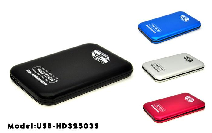 HIGH QUALITY USB3.0 2.5' HDD CASING ENCLOSURE SCREWLESS (32503S)