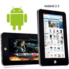 High Speed 7 inch Android Tablet PC work like iPad Samsung  ainol vs A10 vs
