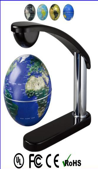 High Tech Magic Antigravity Magnetic Floating Hanging Earth Globe