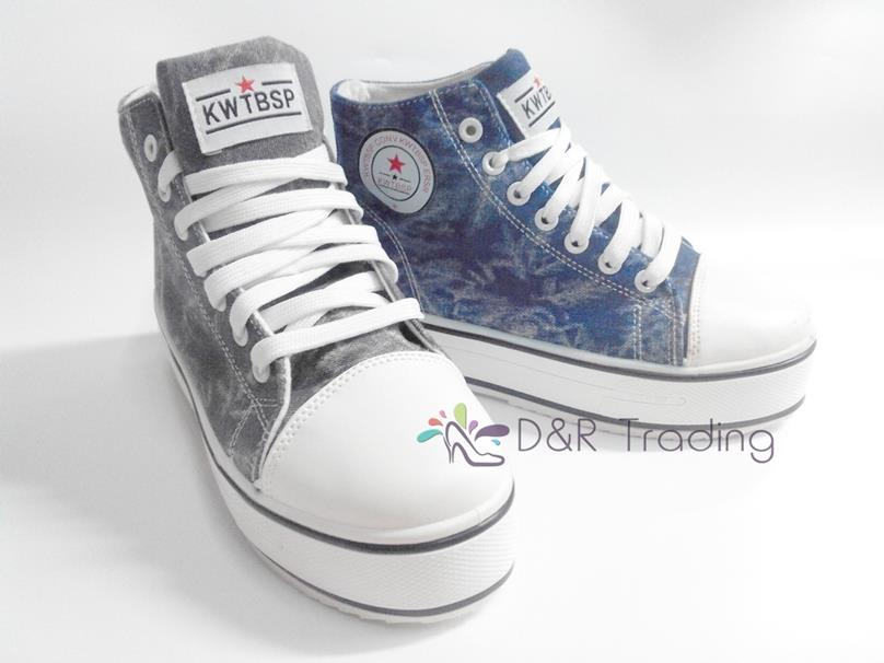 Korean Shoes High Tops Girls High Top Cloth Canvas Shoes