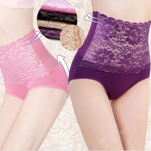 High Waist Breathable Lace Hip up Underwear