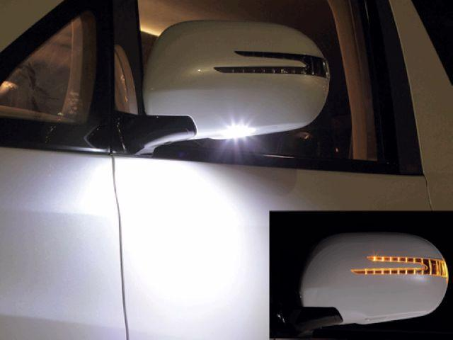 Hilux SURF / Lexus GX470 Door Mirror Cover Arrow Type+Manner Light