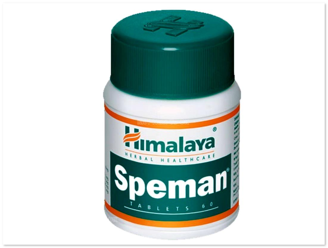 Himalaya Herbal Speman Men Care Increase Sperm Count Naturally 60Tabs
