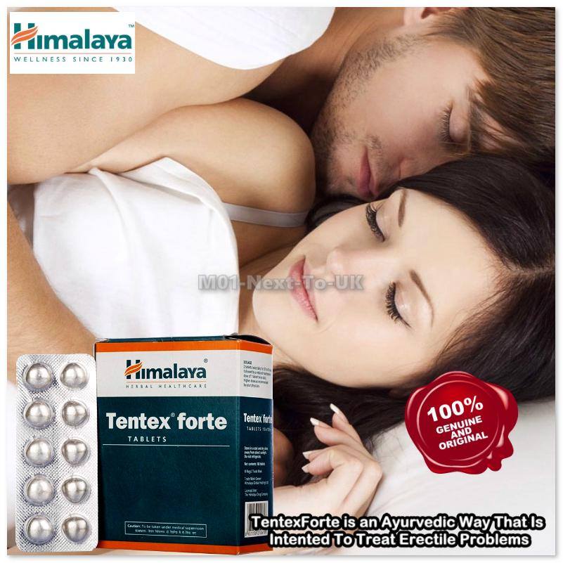 Himalaya Herbal Tentex Forte 10 Tablets Natural Active Herbs Organic T