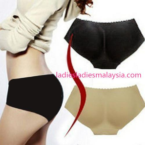 Hip Up Padded Enhancer Shaper Panties (Seamless)