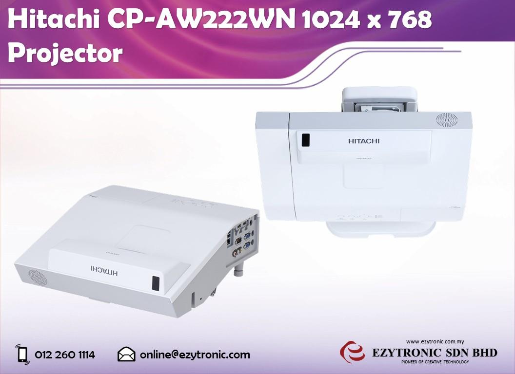 Hitachi CP-AW222WN 1024 x 768 Projector