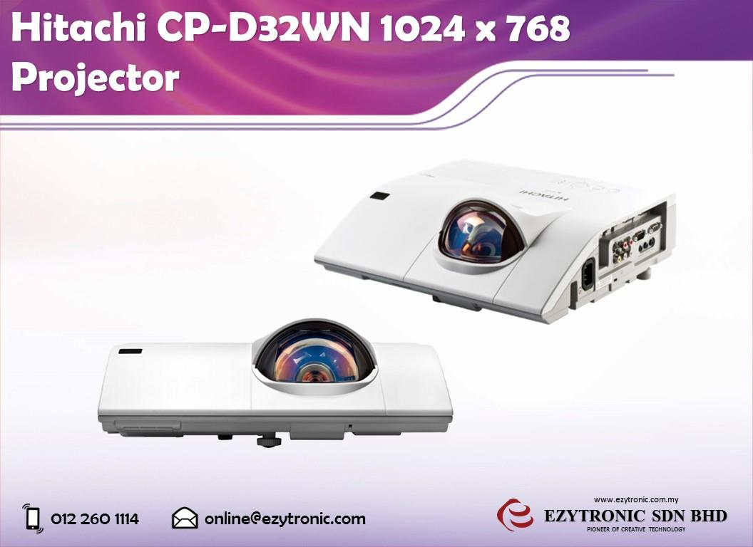 Hitachi CP-D32WN 1024 x 768 Projector