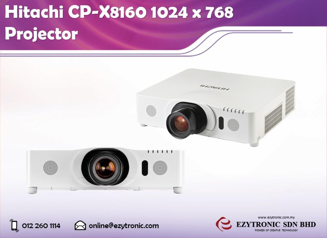 Hitachi CP-X8160 1024 x 768 Projector