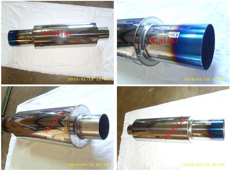 "HKS Stainless Steel Racing Exhaust Muffler 2""/2.5""/3"" Available"