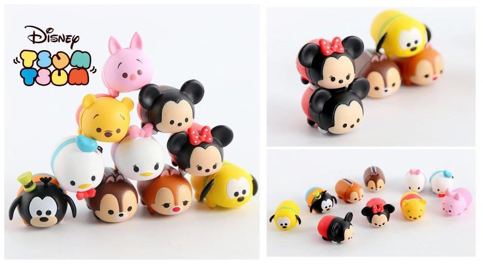 HM0724 ICONIC TSUM TSUM CARTOON COLLECTION SET  (10 CARTOON IN SET)