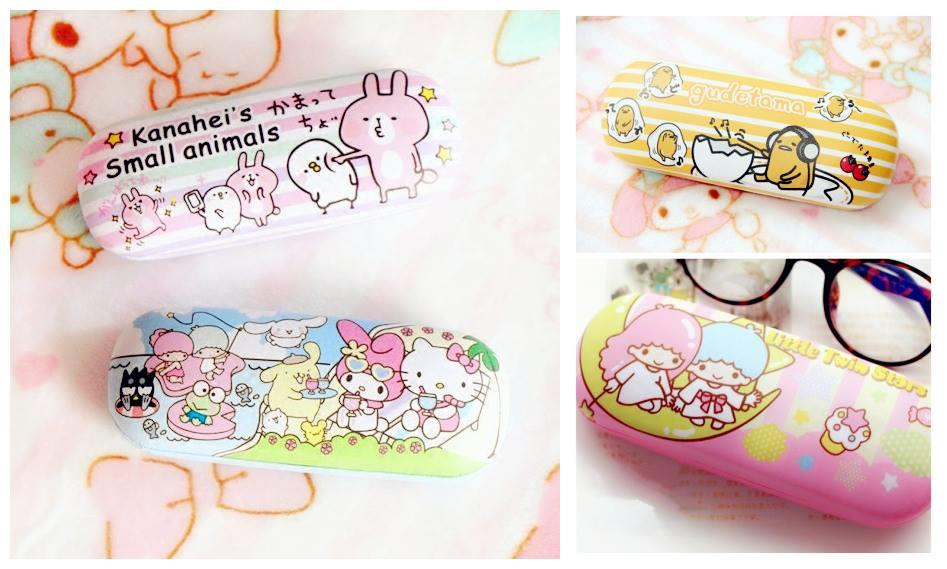 HM0835 ICONIC CARTOON GLASSES CASE