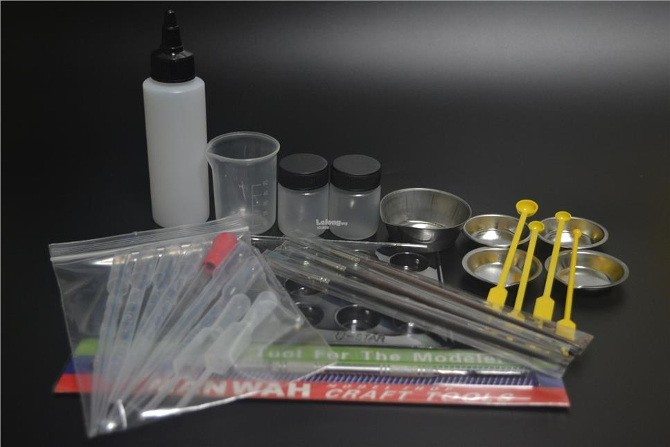 Hobby/Plastic Model Paint Mixing Set