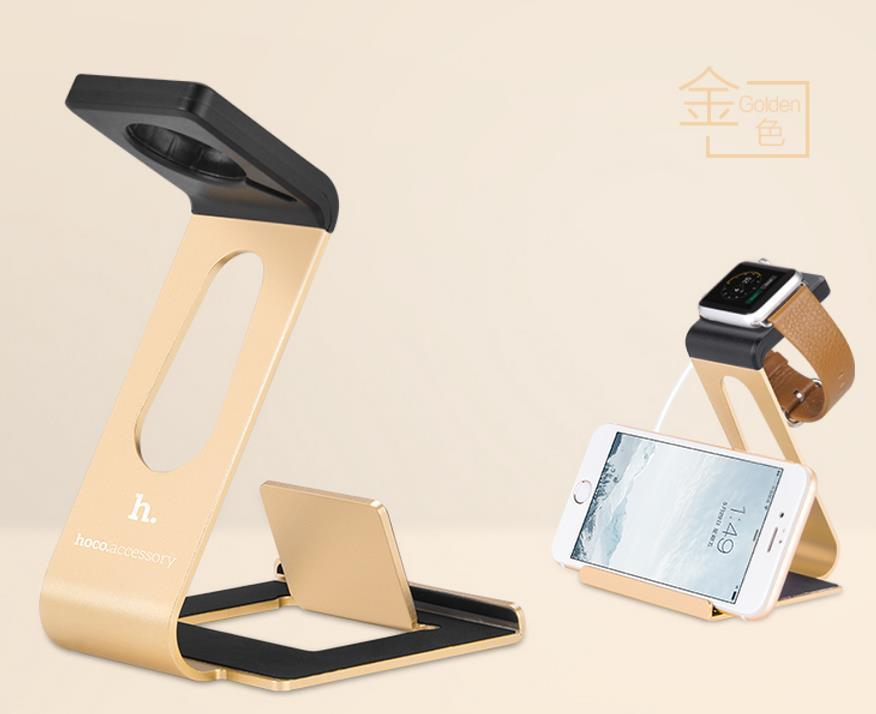 HOCO Apple Watch iPhone 6 6S Plus Charging Station Stand Case Casing