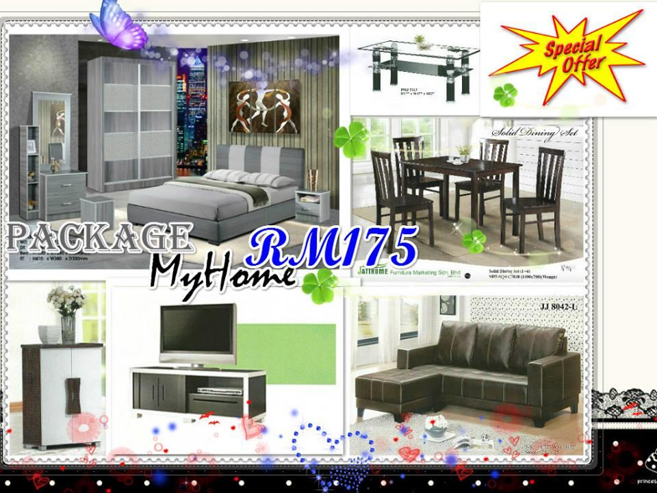 HOME FURNITURE 7 IN 1 SET PACKAGE MYHOME ONLY 175'PER-MONTH