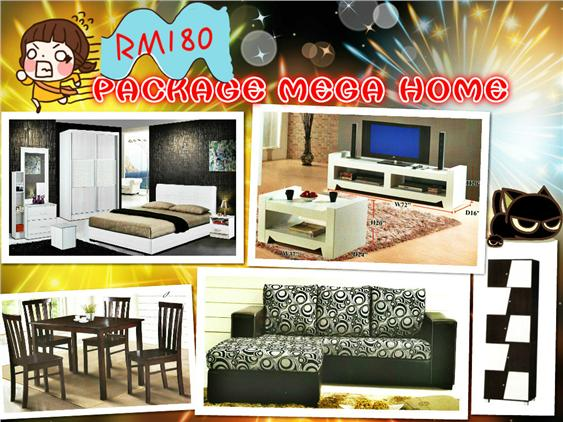 HOME FURNITURE 7 IN 1 SET PACKAGE OFFER ONLY 180'PER-MONTH