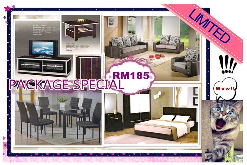 HOME FURNITURE 7 IN 1 SET PACKAGE SPECIALVONLY 185'PER-MONTH