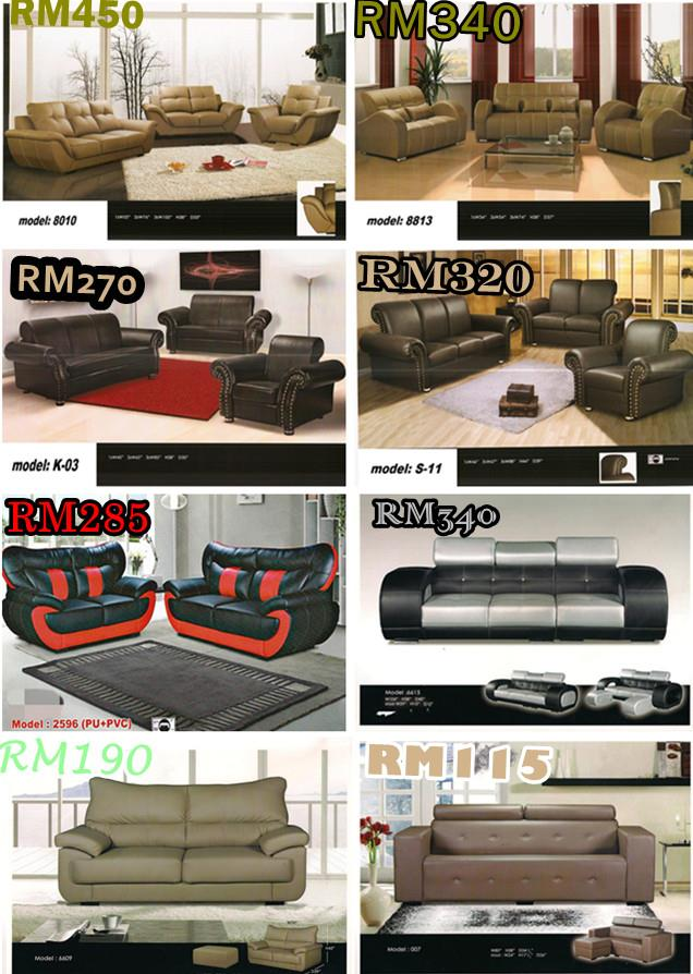 HOME FURNITURE SOFA SET / LSHAPE LOW INSTALLMENT PLAN PAYMENT PERMONTH