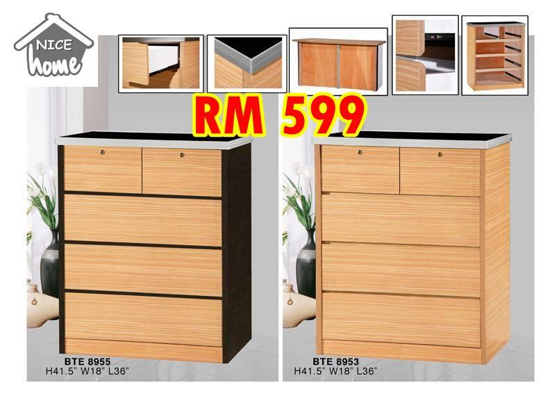 HOME LIVING ROOM CHEST DRAWER CHINESE NEW YEAR PROMOTION