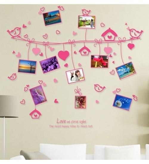 Homestay deco friendly decals unique design creative romantic