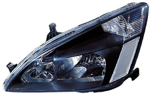 Honda Accord `03 Head Lamp Crystal Black [HD05-HL01-U]