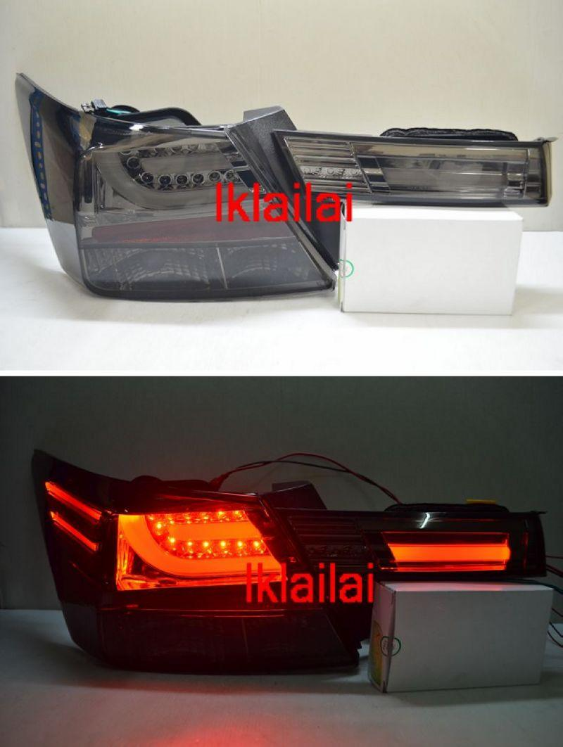 Honda Accord '08-09 LED LIGHT BAR Tail Lamp [Smoke Lens]