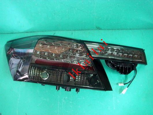 HONDA ACCORD '08 LED Tail Lamp+Bonnet Lamp Full Smoke