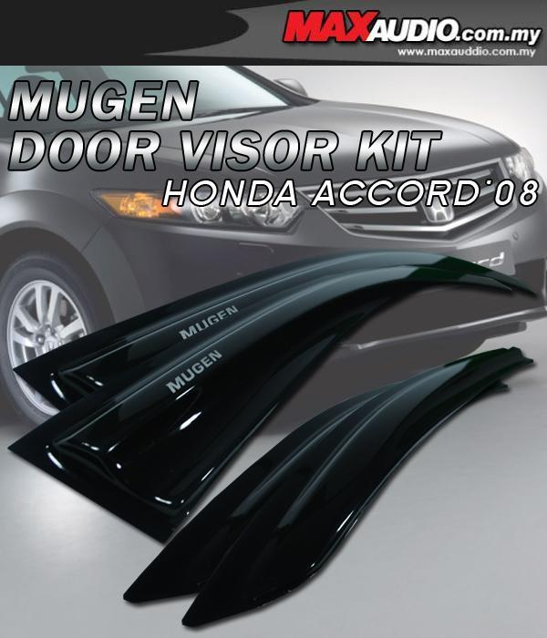 HONDA ACCORD 08 Mugen Style High Quality Anti UV Light Door Visor