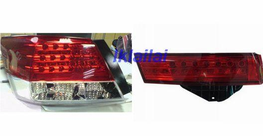 Honda Accord '08 Tail Lamp + Back /Bonnet Lamp Crystal LED Red/Clear/S