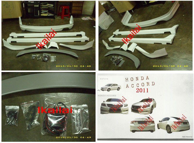 Honda Accord '11-'12 Modulo Style Full Set Body Kit ABS Material