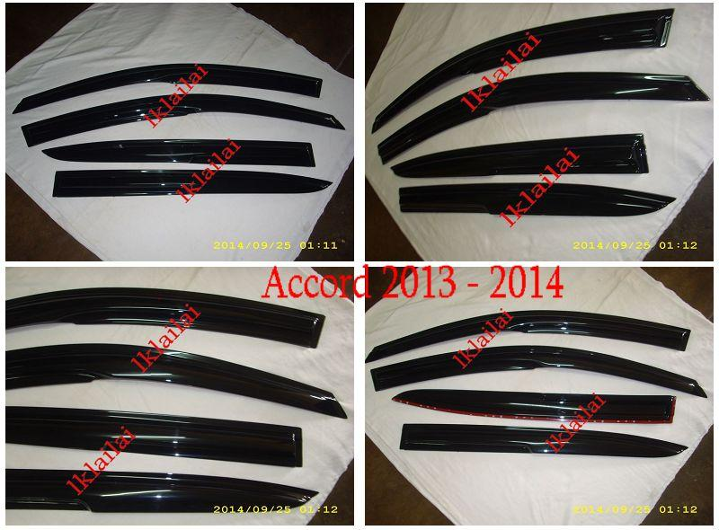 Honda Accord '13-14 Mugen Style Door Visor [4pcs/set]