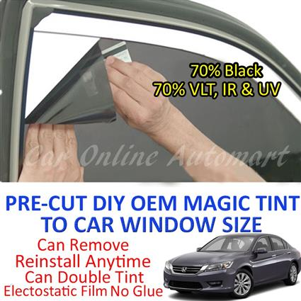Honda Accord 2002 - Present Magic Tinted Solar Window ( 4 Windows ) 70