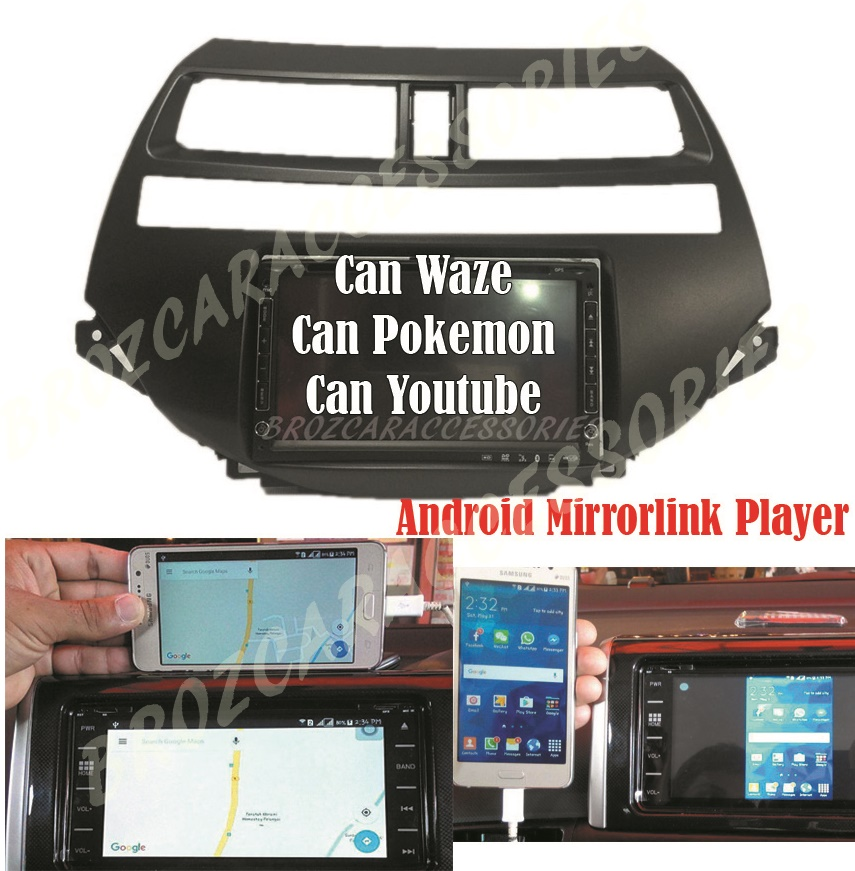 Honda Accord 2008-2011 7' MirrorLink Android OEM Plug & Play DVDPlayer