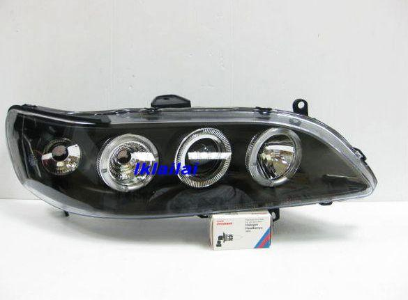 HONDA Accord S84,86 '98-'02 Crystal Projector Dual CCFL Head Lamp Blac