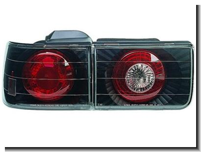 Honda Accord SM4 `90-93 Tail Lamp Crystal Black [HD01-RL02-U]
