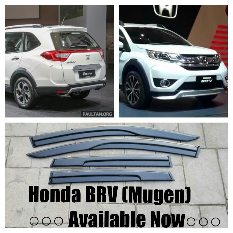 Honda BR-V BRV Mugen Acrylic Door V (end 2/27/2018 12:15 AM)