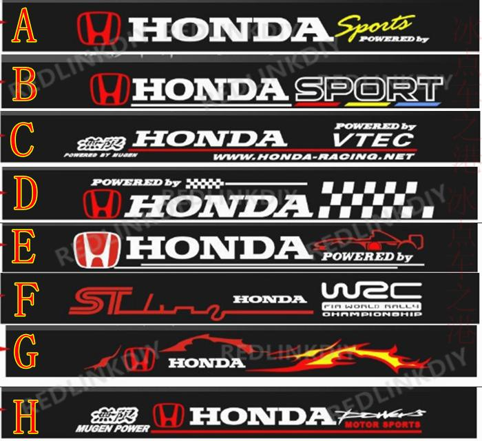 Honda Civic Sticker Design Images Buy Wholesale Honda - Stickers for honda accord