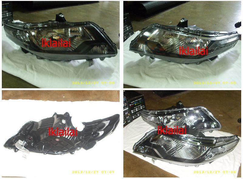 Honda City 09 Head Lamp Price Per Side ONLY RM430 / 1-pair RM780