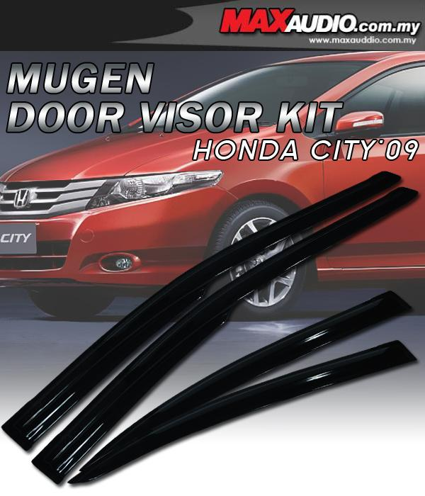 HONDA CITY 09 Mugen Style High Quality Anti UV Light Door Visor