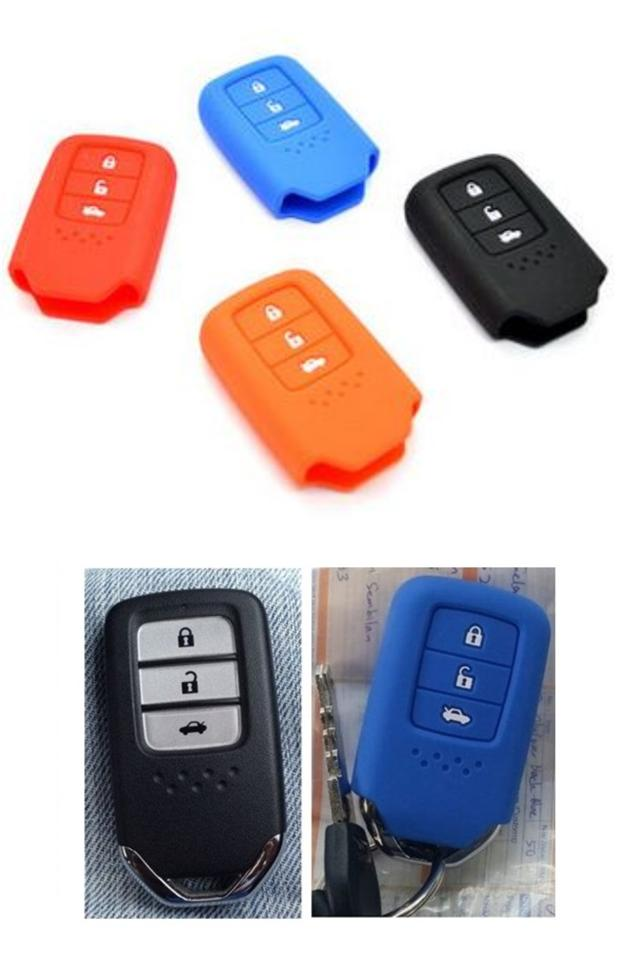 honda city accord 2014 16 smart entry remote silicone key cover case ebay. Black Bedroom Furniture Sets. Home Design Ideas