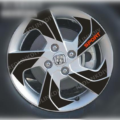 HONDA CITY RIM STICKER